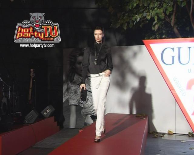 GUESS store Launch Fashion Show HK