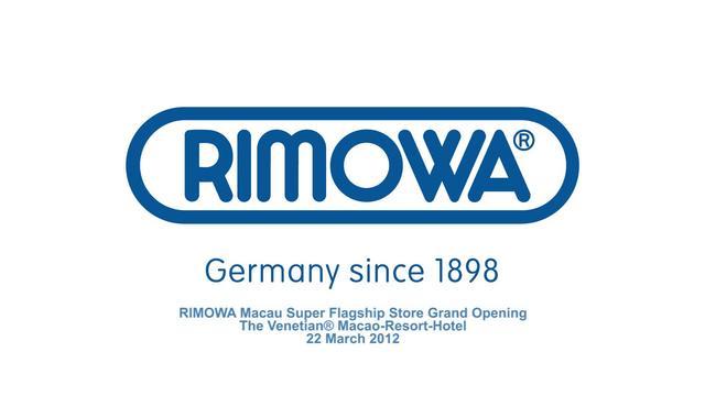 RIMOWA Grand Opening at Macau