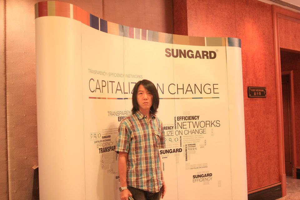 SUNGARD interview 拍攝準備
