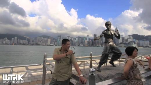 Avenue of Stars Tsim Sha Tsui Daytime Timelapse