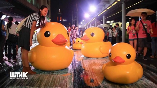 Rubber Duck Project in Hong Kong