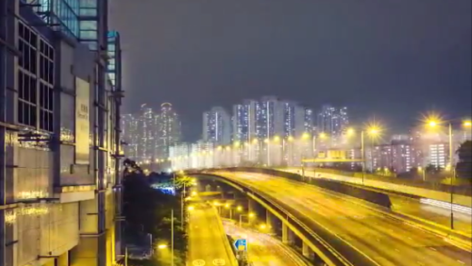 Time Lapse Outside Olympic City