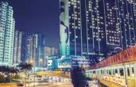 Time Lapse near Panda Hotel, Tsuen Wan.