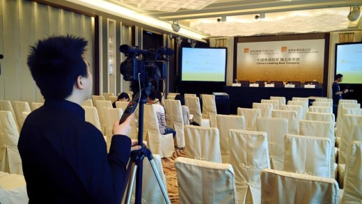 今日幫KKlau拍攝華潤新聞