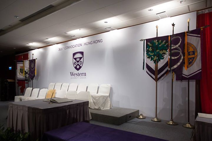 Western 305th Convocation Hong Kong