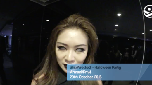 2016.10.29 ShipWrecked! – Halloween Party at Armani/Privé