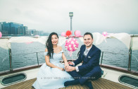 Wedding boat party