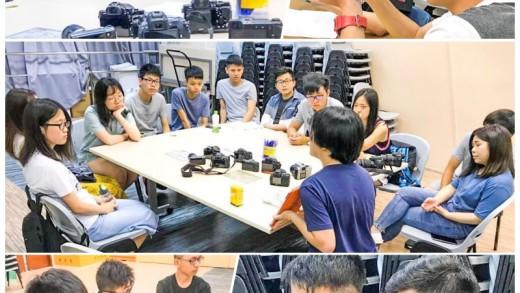 向中華傳道會基石社會服務中心的DSE 學生教授 數碼攝影工作坊